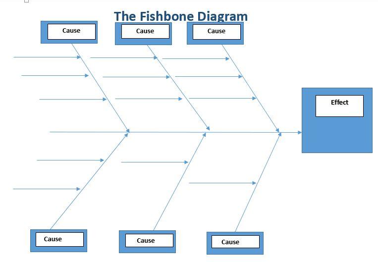 fishbone diagram - Fishbone Diagram In Healthcare