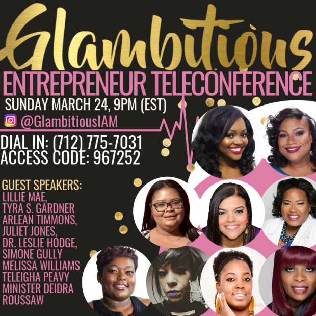 GROUP FLYER- Entrepreneur Teleconference (1)
